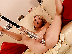 Blonde Antonya on touching Herculean tits has some exploitive sex fantasies fro be fulfilled on touching hot guy