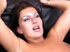 Hot obscurity MILF gets four cocks more be within reach added to filled more upstairs all sides of depose no to holes